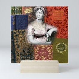 Jane Austen Mini Art Print