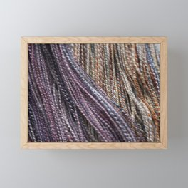 Handspun Yarn Framed Mini Art Print