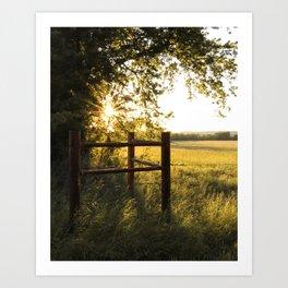 Oklahoma Summer Art Print