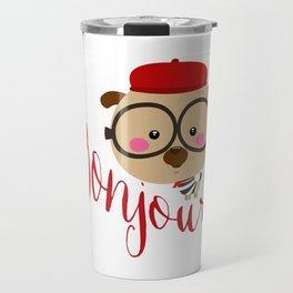 Dog Bonjour Travel Mug