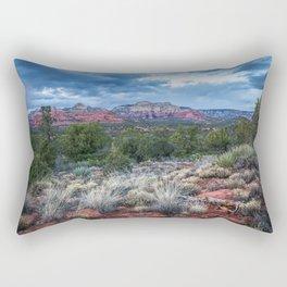 Sedona - Cool Vibes in the Desert Landscape in Northern Arizona Rectangular Pillow