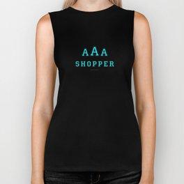 Triple-A Shopper – mint Biker Tank