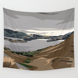 Cass Bay, New Zealand Wall Tapestry