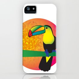 Toucan - White iPhone Case