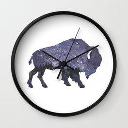 Starry Night Buffalo Wall Clock