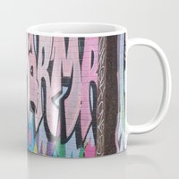 detroit Mugs featuring Detroit Graffiti by ashurcollective