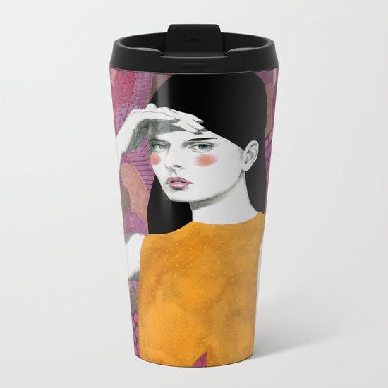 Dalila at night Metal Travel Mug