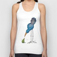 teacher Tank Tops featuring The Teacher by Jennifer Geldard