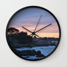 Pacific Sunset 277 Wall Clock