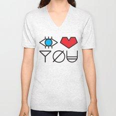 EYE HEART YOU Unisex V-Neck