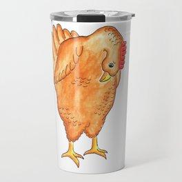 Bummed Chicken Travel Mug