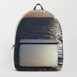 Sunset, Santorini Backpack
