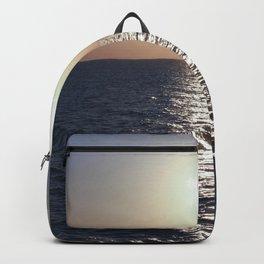 Sunset, Santorini Backpack