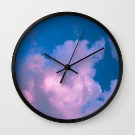 Cotton Candy Cloud Wall Clock