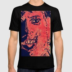Icons: Leatherface Mens Fitted Tee Black SMALL