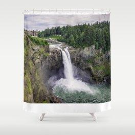Snoqualmie Falls, Washington Shower Curtain