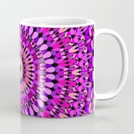 Pink and Purple Gravel Mandala Coffee Mug