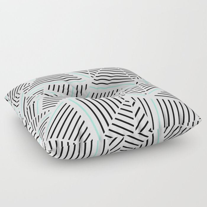 Ab Linear Zoom With Mint Floor Pillow