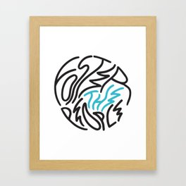 Foster the People Framed Art Print