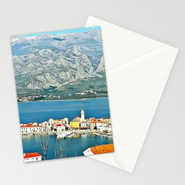 Vinjerac, Croatia  Stationery Cards