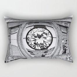 Diamant in Industrie Ruine Rectangular Pillow