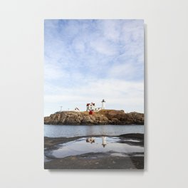 Nubble Light II Metal Print