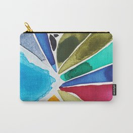 Mixed Colors Carry-All Pouch