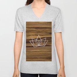 Soul Catalyst Wood Logo Unisex V-Neck
