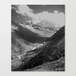Winter in the Summer Canvas Print