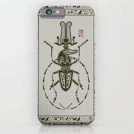 Kafkian Amulet IV: Sobek iPhone Case