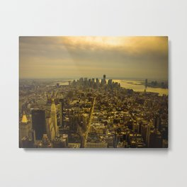 Manhattan,New York Metal Print