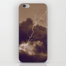 Turbulence iPhone Skin