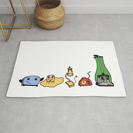 The Gang's All Here! Rug