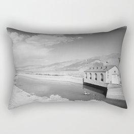 Los Angeles Aqueduct, Alabama Gates, Los Angeles Rectangular Pillow