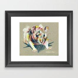 Baby rat Framed Art Print