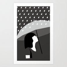 close to tears Art Print