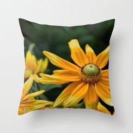 Golden Yellow Throw Pillow