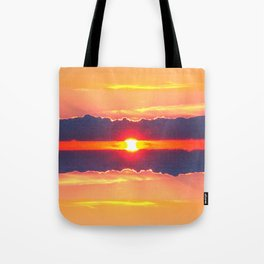 Greece - the sunset Tote Bag