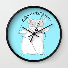 Hamster singing MC Hammer | Animal Karaoke | Blue Wall Clock