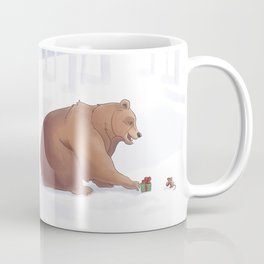 A Holiday for Bear and Mouse Coffee Mug