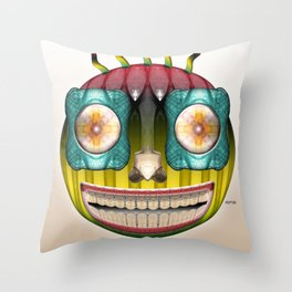 Bottlehead #9 Throw Pillow