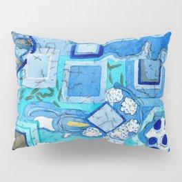 Blue Room with Blue Frames Pillow Sham