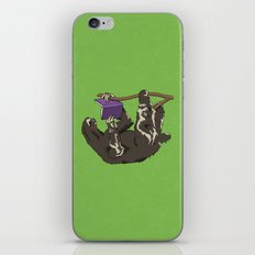 Reading Sloth iPhone & iPod Skin