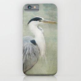 Cool Heron iPhone Case