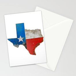 Rustic Texas Sign Stationery Cards