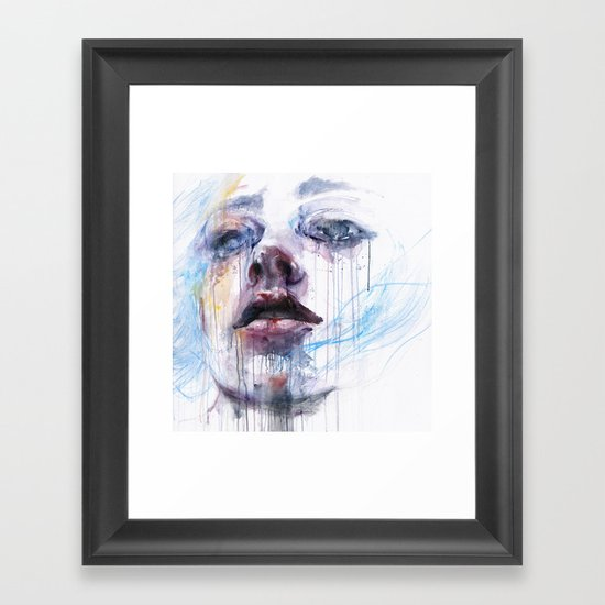 breathing Framed Art Print