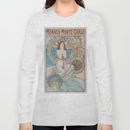 Vintage poster - Monte Carlo Long Sleeve T-shirt