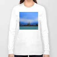 chicago Long Sleeve T-shirts featuring Chicago by dBranes