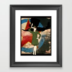 Army Girl Framed Art Print