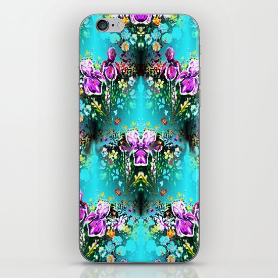 Abstract Garden Repeat iPhone & iPod Skin